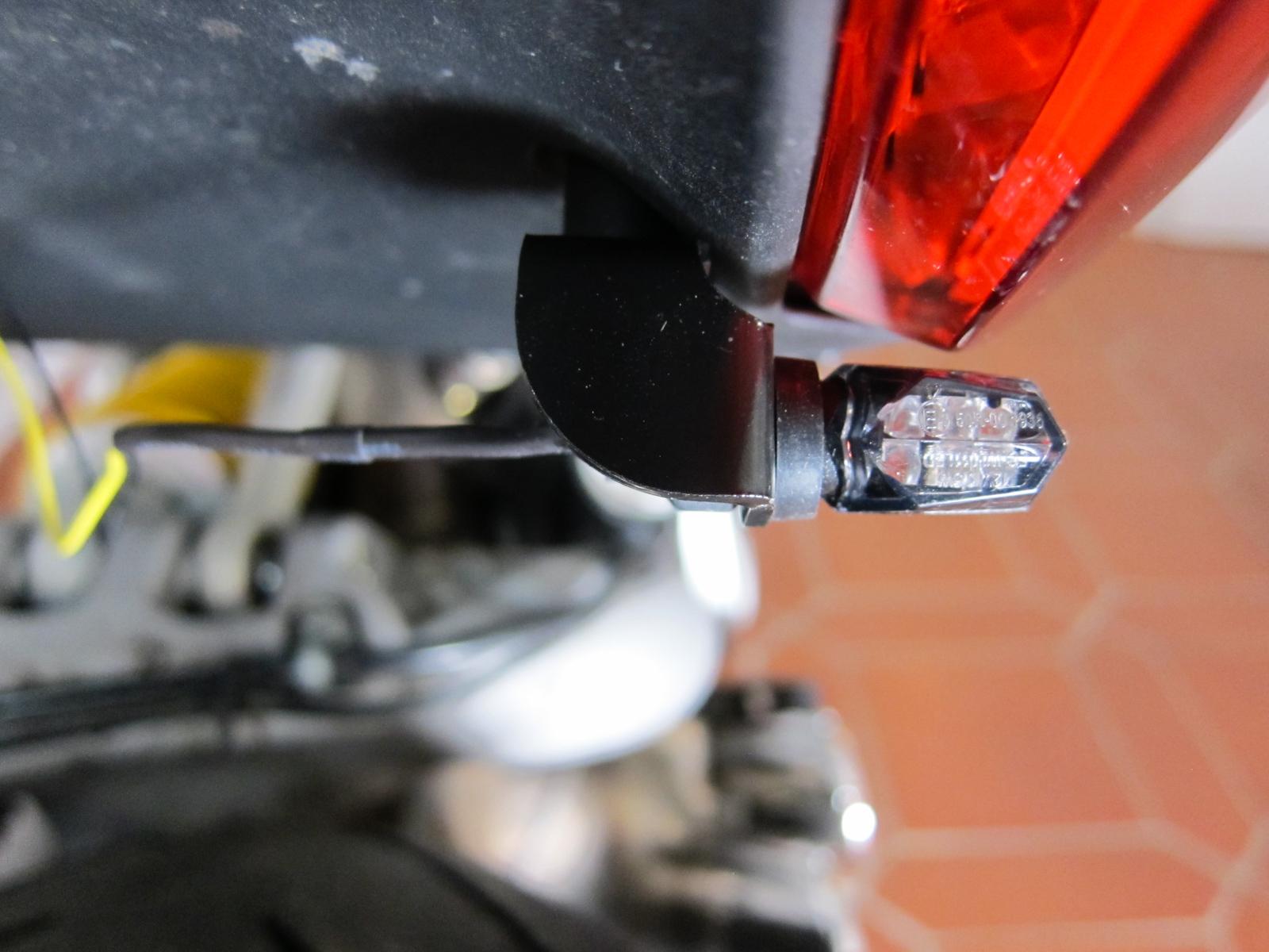Nano LED Blinker Montage an der Ducati XDiavel – NoPain.at